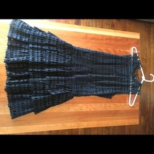 Rare Crocheted Free People One band new dress